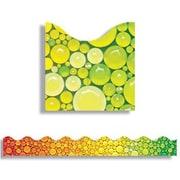 Trend Enterprises® Pre-kindergarten - 9th Grades Scalloped Terrific Trimmer, Rainbow Bubbles