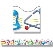 Trend Enterprises® Pre-Kindergarten - 9th Grades Scalloped Terrific Trimmer, Music Makers