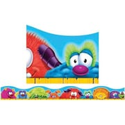 Trend Enterprises® Pre-kindergarten - 3th Grades Scalloped Terrific Trimmer, Furry Friends Faces