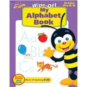 Trend Enterprises® My Alphabet Wipe-Off Book