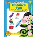 Trend Enterprises® Phonics Fun -Vowels and Consonants Wipe-Off Book
