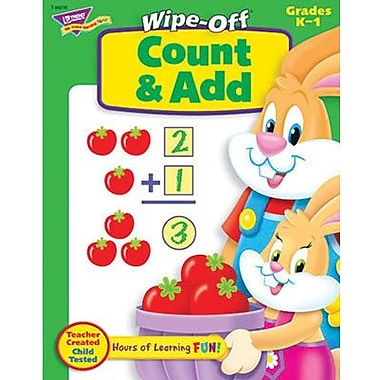 Trend Enterprises® Count and Add Wipe-Off Book