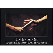 Trend Enterprises® ARGUS® Poster, T.E.A.M. Together Everyone