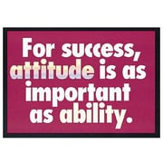 Trend Enterprises® ARGUS® Poster, For Success Attitude Is As Important As Ability