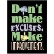 Trend Enterprises® ARGUS® Poster, Don't Make Excuses