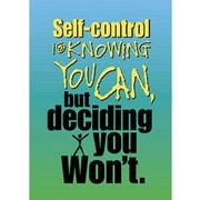 Trend Enterprises® ARGUS® Poster, Self-Control Is Knowing