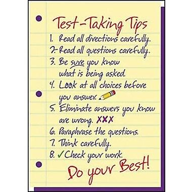Trend Enterprises® ARGUS® Poster, Test-Taking Tips