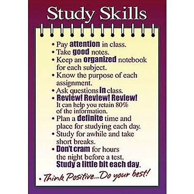 Trend Enterprises® ARGUS® Poster, Study Skills
