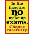 Trend Enterprises® ARGUS® Poster, In Life There Are No Make-up Exams