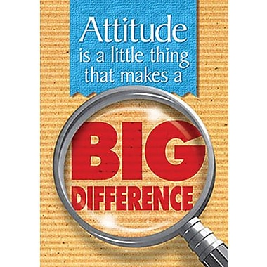Trend Enterprises® ARGUS® Poster, Attitude Is A Little Thing