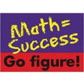 Trend Enterprises® ARGUS® Poster, Math = Success Go Figure