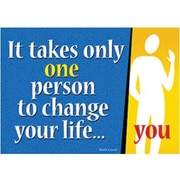 Trend Enterprises® ARGUS® Poster, It Takes Only One Person
