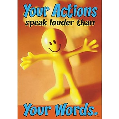 Trend Enterprises® ARGUS® Poster, You Actions Speak Louder