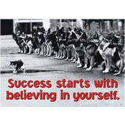 Trend Enterprises® ARGUS® Poster, Success StArts With Believing In Yourself