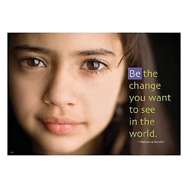 Trend Enterprises® ARGUS® Poster, Be The Change