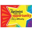 Trend Enterprises® ARGUS® Poster, The Optimist Sees The Opportunity In Every Difficulty - Churchill