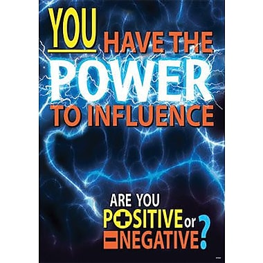 Trend Enterprises® ARGUS® Poster, You Have The Power To Influence