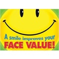 Trend Enterprises® ARGUS® Poster, A Smile Improves Your Face Value