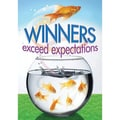 Trend Enterprises® ARGUS® Poster, Winners Exceed Expectations