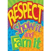 Trend Enterprises® ARGUS® Poster, Respect: SHow It and Earn It