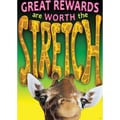 Trend Enterprises® ARGUS® Poster, Great Rewards Are Worth The Stretch