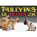 Trend Enterprises® ARGUS® Poster, Bullying Is Never OK