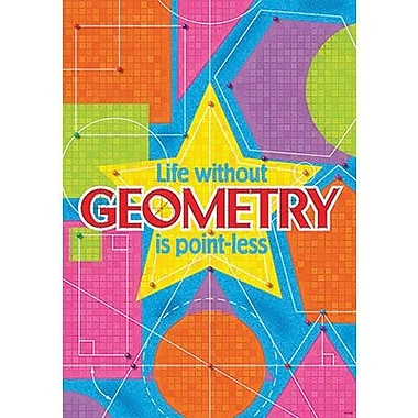 Trend Enterprises® ARGUS® Poster, Life Without Geometry Is Point-Less