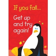Trend Enterprises® ARGUS® Poster, If You Fall Get Up and Try Again