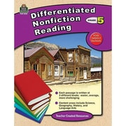Teacher Created Resources® Differentiated Nonfiction Reading Resource Book, Grades 5th