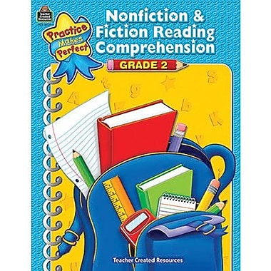 Teacher Created Resources® Nonfiction and Fiction Comprehension Book, Grades 2nd
