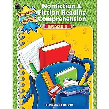 Teacher Created Resources® Nonfiction and Fiction Comprehension Book, Grades 3rd