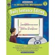 Teacher Created Resources® Daily Sentence Editing Book and CD Set, Grades 3rd