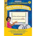 Teacher Created Resources® Daily Sentence Editing Book and CD Set, Grades 5th