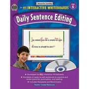 Teacher Created Resources® Daily Sentence Editing Book and CD Set, Grades 6th