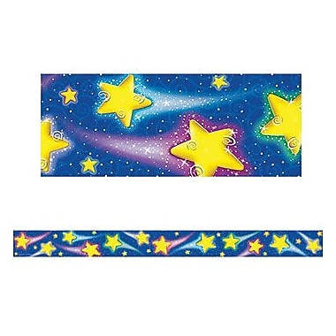 Teacher Created Resources® Pre School-5th Grades Straight Bulletin Board Border Trim, Shooting Stars