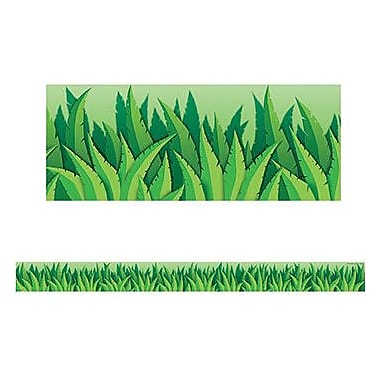 Teacher Created Resources® pre-school-12th Grades Straight Bulletin Board Border Trim, Island Leaves