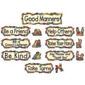 Teacher Created Resources® Mini Bulletin Board Set, Good Manners