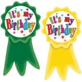 Teacher Created Resources® Birthday Ribbons Wear'Em Badges
