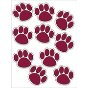 Teacher Created Resources® Grades Toddler - 12th Accents, Maroon Paw Prints