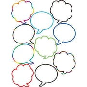 "Teacher Created Resources TCR5047 6"" DieCut Speech/Thought Bubbles Accents, Multicolor"