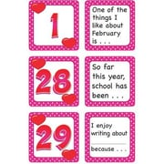 Teacher Created Resources® Calendar Days/Story Starters Mini Pack, Polka Dot, February