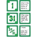 Teacher Created Resources® Calendar Days/Story Starters Mini Pack, Polka Dot, March