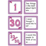 Teacher Created Resources® Calendar Days/Story Starters Mini Pack, Polka Dot, April