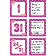 Teacher Created Resources® Calendar Days/Story Starters Mini Pack, Polka Dot, May