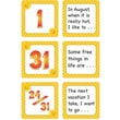 Teacher Created Resources® Calendar Days/Story Starters Mini Pack, Polka Dot, August