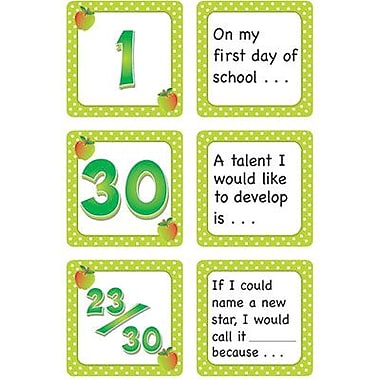 Teacher Created Resources® Calendar Days/Story Starters Mini Pack, Polka Dot, September
