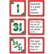 Teacher Created Resources® Calendar Days/Story Starters Mini Pack, Polka Dot, December