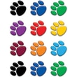 Teacher Created Resources® Grades Toddler - 12th Mini Accents, Colorful Paw Prints