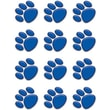 Teacher Created Resources® Toddler - 12th Grades Accents, Blue Paw Prints, 36/Pack