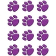 Teacher Created Resources® Toddler - 12th Grades Mini Accents, Purple Paw Prints